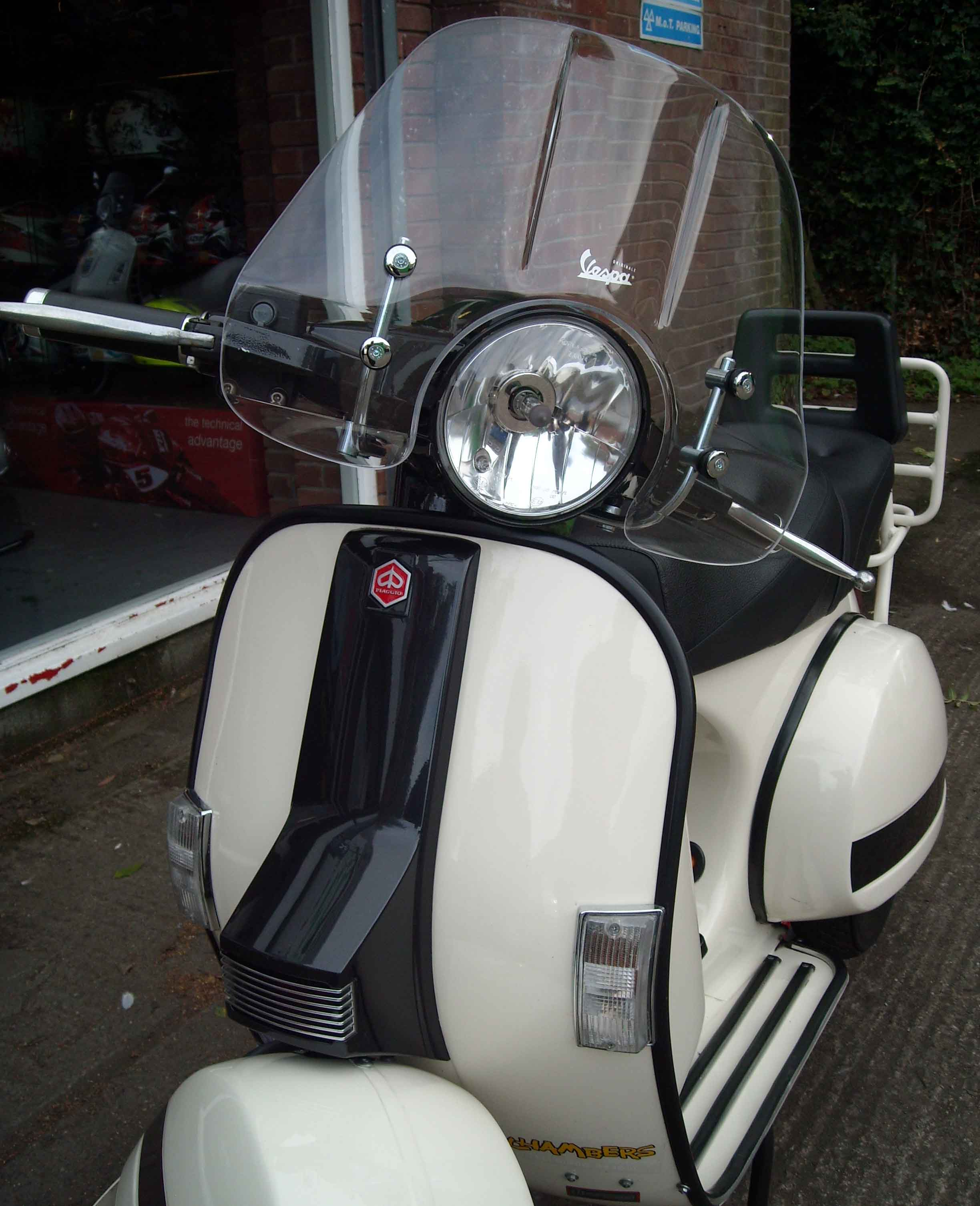 Vespa Px Genuine Clear Flyscreen